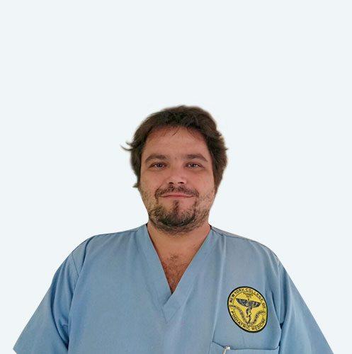 Dott. Sergio Caruso podologo gruppo PBS specializzato nella cura dell'alluce valgo