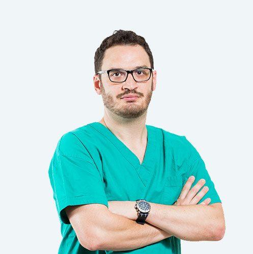 Dott. Damiano Guerra, podologo della tecnica PBS per la cura dell'alluce valgo con la chirurgia percutanea