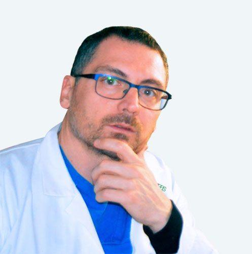 Dott. Gregorio Lamacchia, fisioterapista specializzato nella cura dell'alluce valgo