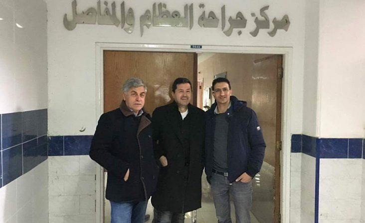 I chirurghi PBS Bianchi, Samer, Ferranti in clinica al Cairo
