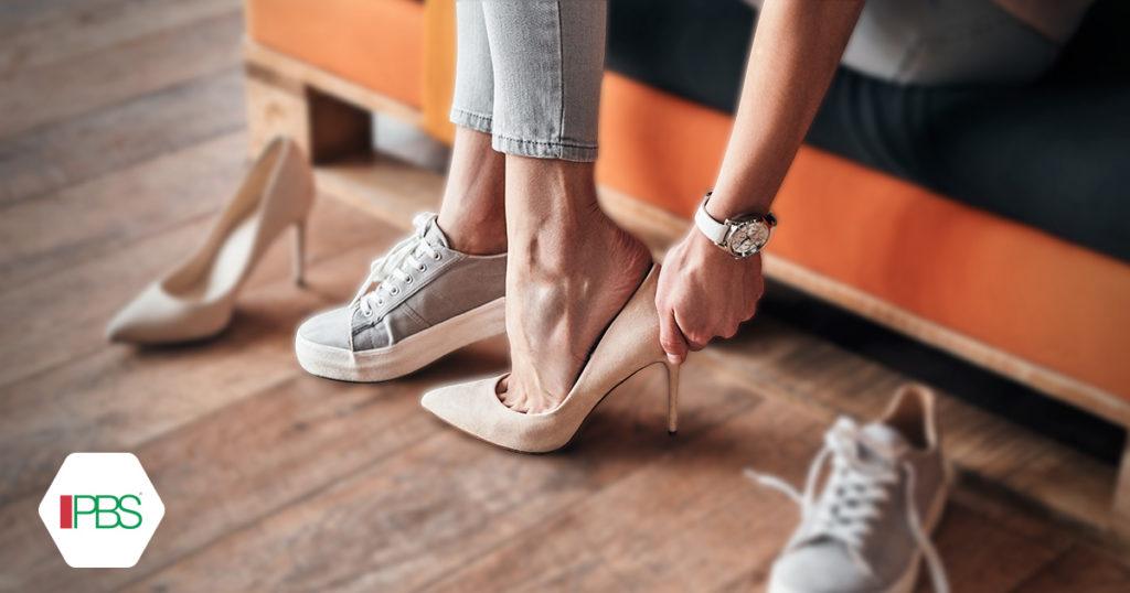 scarpe e alluce valgo