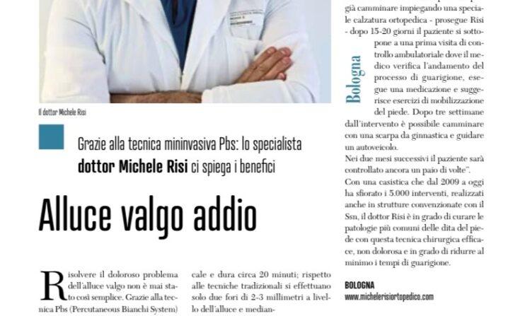 articolo alluce valgo dr Risi